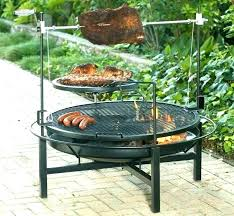fire pit cooking grate outdoor fire pit cooking grill fire pit grill combo fire pit grille