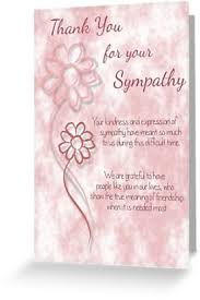 Thank You Sympathy Cards Thank You For Your Sympathy Pink Sketched Flowers With Sentiment Words Greeting Card By Samantha Harrison