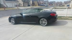 infiniti g37 convertible black. 2011 infiniti g37 gasoline 2 door with sport package convertible black o