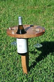 outdoor wine glass holder outdoor wine glass holder set of 2 stake outdoor wine glass holder
