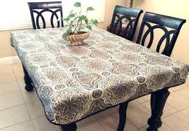 vinyl table covers vinyl table pad fitted vinyl table covers tablecloth tablecloths party city elasticized cover