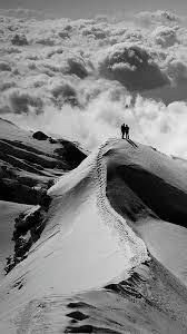 Nature Black And White : Mountain ...
