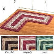 corner kitchen rug l shaped kitchen mat corner kitchen laundry bath braided rug inspirations trends corner corner kitchen rug