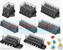 2 4 6 8 10 12 16 way heavy duty fuse box holder 12v volt blade kit image is loading 2 4 6 8 10 12 16 way