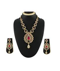 khazana designer 6pc necklace set 11pc earrings khazana designer 6pc necklace set 11pc earrings at best s in india on snapdeal