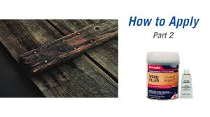how to repair wood with bondo wood filler and rotted wood rer