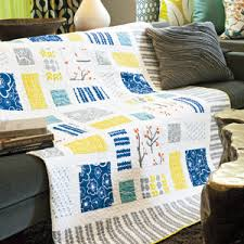 Contemporary Quilt Patterns Best Modern View Contemporary Easy To Piece Bed Quilt Pattern The
