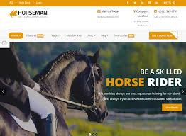 template horse top 2 equestrian horse riding training html5 templates thats journal