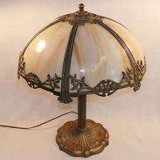 Antique Slag Glass Lamps Collectors Weekly