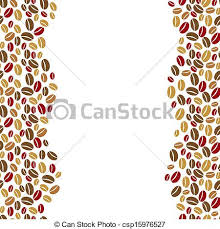 coffee beans border clipart. Delighful Coffee The Coffee Beans Vertical Border  Csp15976527 On Coffee Beans Border Clipart D