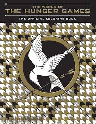 Small Picture Sneak peek at the WORLD OF THE HUNGER GAMES coloring book