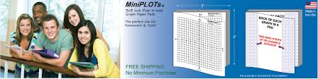 Post It Note Graph Paper