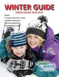 Owen Sound Festival Of Lights 2018 2018 2019 Owen Sound Winter Guide By Cityowensound Issuu