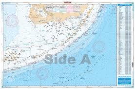 Straits Of Florida Fishing Nautical Chart