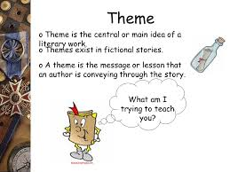 Reading Comprehension Theme Main Idea vs. Supporting Details ...