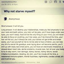 Starving Yourself Quotes Best Of You Don't Need To Starve Yourself You Need To Eat You Don't Have