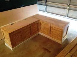 Breakfast Nook Booth Corner Bench