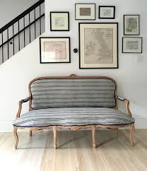 remodelista contributing editor izabella sourced an antique gilded french style settee its