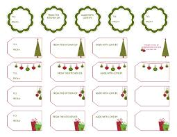 Kitchen Christmas Gift Missy Salsa Cute Gift Tags For Gifts Free Printables