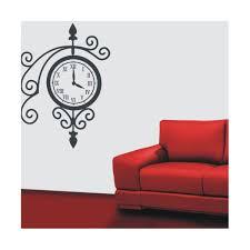 clock wall stickers