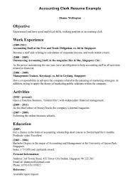 resume objective clerical cover letter sample resume objective clerical with employment