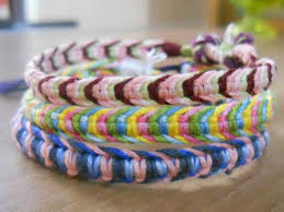 Macrame Bracelet Patterns Best Multicolored Macrame Bracelets Friendship Bracelet Tutorial
