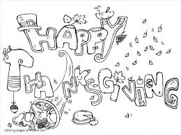 Small Picture 10 Thanksgiving Coloring Pages Free PDF Printable Download