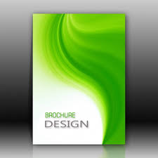 White Brochure Green And White Brochure Design Psd File Free Download