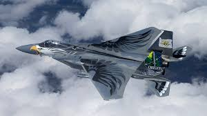 an f 15 eagle operated by the oregon national guard wears the artwork of its namesake bird the aircraft received its new look to help elevate base me