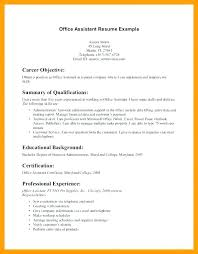 Veterinary Resumes Resumes For Receptionists Objectives For Resumes For