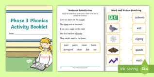 There are three different worksheets per set. Phase 3 Phonics Activity Sheets Twinkl Resources