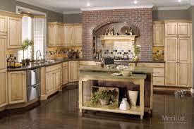 Merillat Kitchen Cabinets Merillat Classicr Somerton Hill In Maple Natural With Java Glaze
