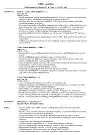 Help Desk Technician Resumes Ataumberglauf Verbandcom