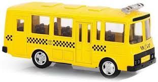 Инерционная машинка <b>Playsmart</b> Автопарк: ПАЗ <b>автобус</b> ...