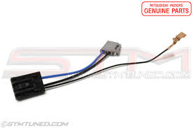 evo 8 9 fuel system fuel pumps, install, fittings & oem mitsubishi Cadillac Wire Harness genuine oem mitsubishi fuel pump harness for the 2003 2006 mitsubishi evolution viii ix 2003 2006 evolution viii & ix starting at $16 48