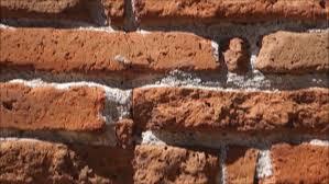pan of old brick wall