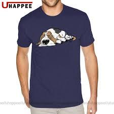 Oversized Basset Hound Cartoon Dog T ...