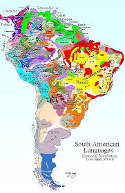 Titus Didactica Language Map South America Map Frame