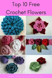 Free Crochet Flower Patterns Fascinating My Top 48 Favorite Free Patterns For Crochet Flowers