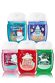 Amazon Bath & Body Works 5 Pack Pocketbac Holiday Traditions