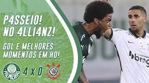 Passeio! Confira os melhores momentos de Palmeiras 4, Corinthians 0 - Nosso  Palestra
