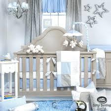 sheep nursery decor blue gray star designer baby boy ideas quilt luxury new born bedding sets