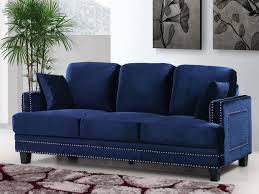 blue sofa set velvet sectional couch colour schemes with loveseat sky sleeper navy full size ideas