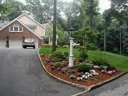 Image of: Driveway Landscape Ideas for Slopes