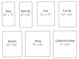 Bedspread Sizes Chart King Size Bedspread Dimensions Superbk Co