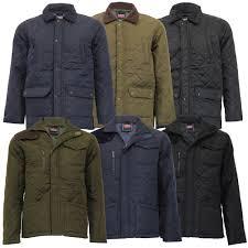 mens jacket mareno coat padded diamond quilted corduroy
