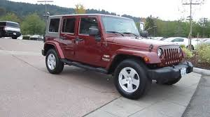 maroon 4 door jeep wrangler mitula cars