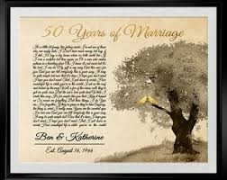 gifts for a 50th wedding anniversary. 50th anniversary gifts, gifts for parents, wedding a i