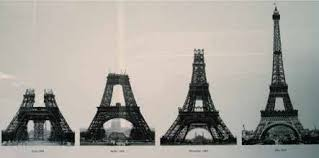 The eiffel tower is now 6 metres higher than its former 'rival', the chrysler building, thanks to its new antennas! The History Of The Eiffel Tower Sassda