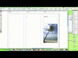How To Make Travel Brochure How To Make A Travel Brochure On A Computer Youtube